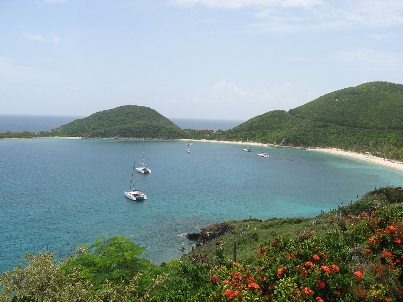 Deadman's Bay on Peter Island, BVI