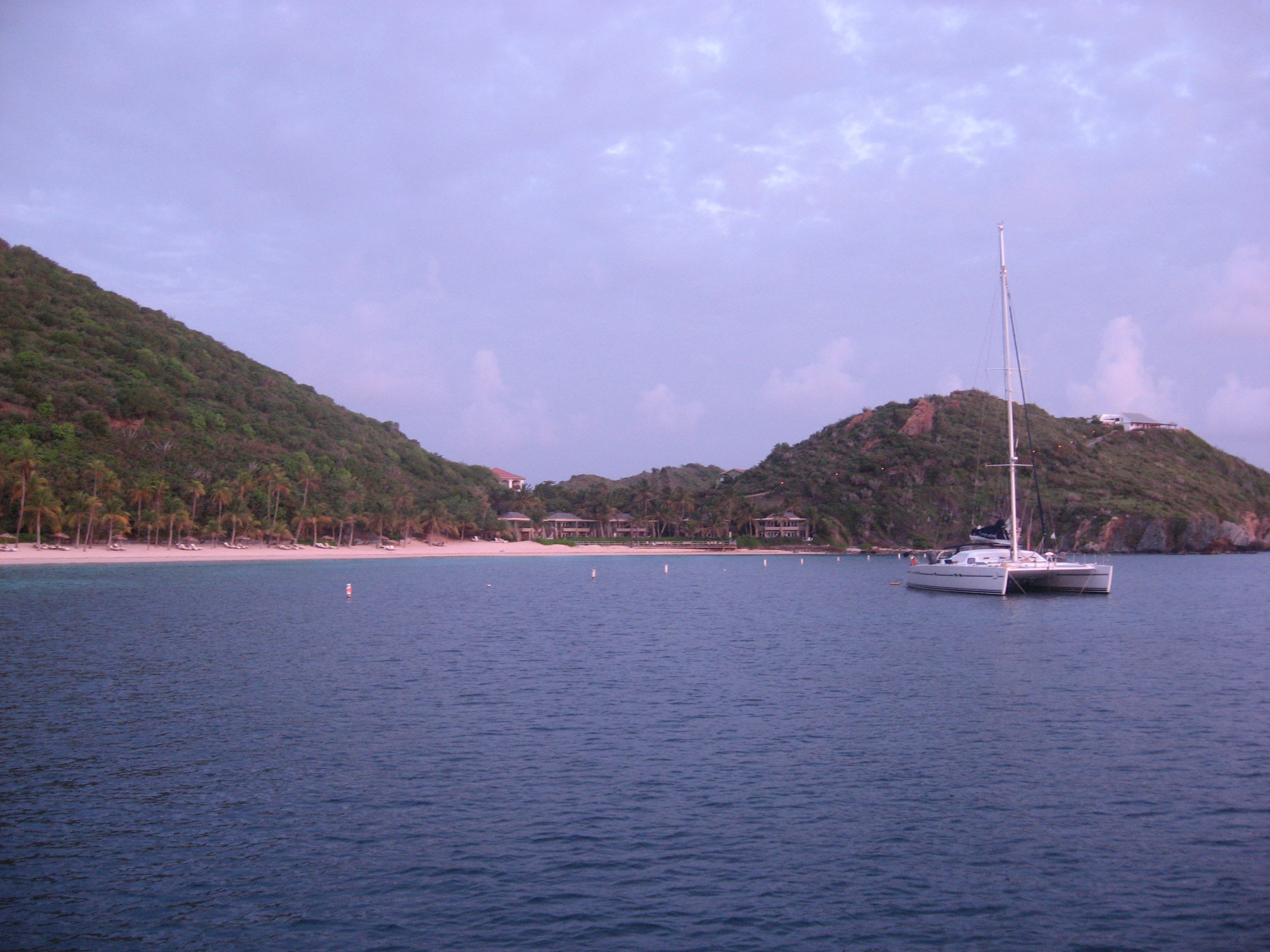 Deadman's Beach on Peter Island, BVI