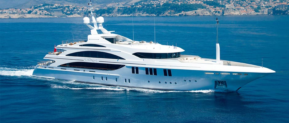 Motor Yachts for charter in the Virgin Islands - Andreas L