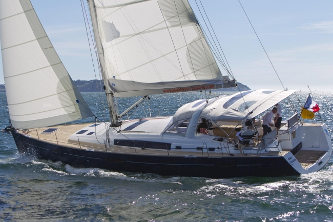 Sailing yacht Blue Passion in the British Virgin Islands