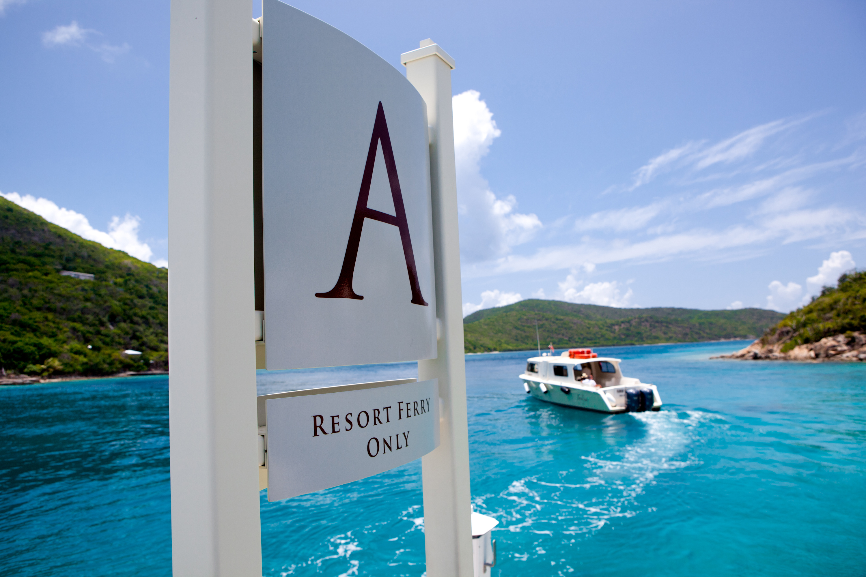 Scrub Island-Resort Ferry and dock